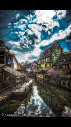 La petite Venise by Fabrice Kurz ~ Colmar, France** Some Beautiful Pictures, Beautiful Sites, Beautiful World, Beautiful Places, Places Around The World, Travel Around The World, Around The Worlds, France 3, Visit France