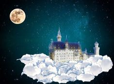 Free Image on Pixabay - Castle, Clouds, Fairy Tales, Dream Royce, Back Angel, How High Are You, Dream Images, Dream Fantasy, Dream Interpretation, Fantasy Images, Lucid Dreaming, Writing Inspiration