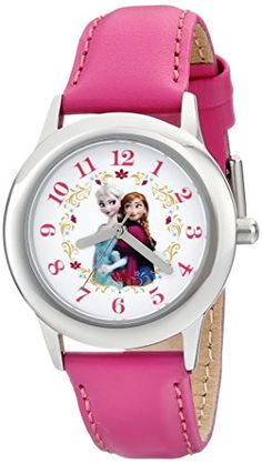 Honey 100% Genuine Disney Cartoon Frozen Children Girl Watches Silicone Quartz Students Girls Clocks Number Waterproof Original Suitable For Men And Women Of All Ages In All Seasons Watches