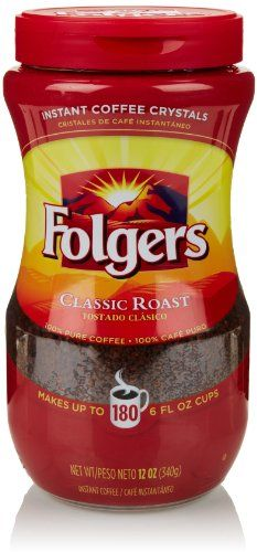 Best Folgers Classic Roast Instant Coffee Crystals Recipe ...