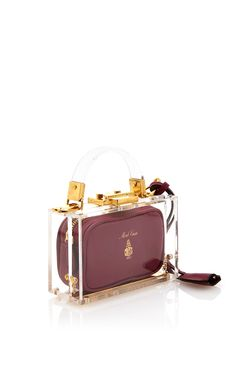 8cb8569abd Mini Plexi Grace Box by Mark Cross for Preorder on Moda Operandi LOVE LOVE  LOVE.