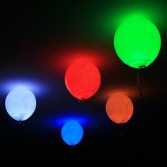 Led Işıklı Balon   tuhafbakkal