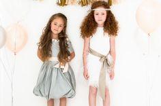 Feestjurk Sophie Diamond_Feestkleding voor meisjes_kerstjurkjes voor meisjes