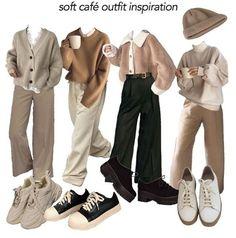 Teen Fashion Outfits, Mode Outfits, Retro Outfits, Cute Casual Outfits, Vintage Outfits, Fashion Dresses, Aesthetic Fashion, Look Fashion, Aesthetic Clothes