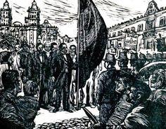 entrada triunfal del presidente benito juarez a la ciudad de mexico