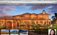 This is a website we built for a realtor. The background image and listing information dynamically update when different properties are clicked!