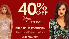 Get 40% off your purchase with code: AXP40. #Sale ends 11/26/14, so shop now for these #amazingdeals! >> www.axparisusa.com.  #follow us for more #stylish #trends! #axparisusa #fashion #dresses #fashionista #weheartit #fashionblogger #newtrends #newcollection #dreamcloset #musthave #lookbook #womensfashion #trendy #dressforless #amazondresses #ootd #girl