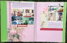 art scrap & more: ☀ a SUMMER DIARY 2013 ☀ // Pages 1, 2, 3 & 4