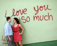 i love you so much. (What a GREAT Engagement Session from Andy Sams Photography)