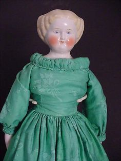 China with blond flat top hair style 22 tall from mintonsdollandcuriosityshop on Ruby Lane