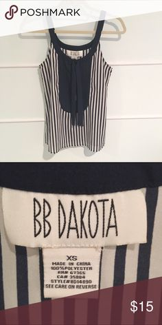 BB Dakota Striped Top BB Dakota navy and white striped top BB Dakota Tops Blouses