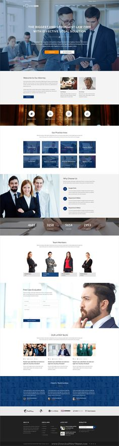 Booster is a professional multipurpose #PSD template for stunning #lawyer #lawfirm website with 37 organized PSD pages download now➩ https://themeforest.net/item/booster-business-and-multipurpose-psd-template/19607847?ref=Datasata