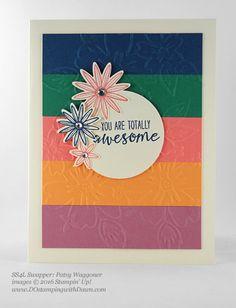 Grateful Bunch swap card shared by Dawn Olchefske #dostamping #stampinup (PatsyWaggoner)