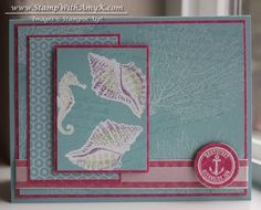 By the Tide stamp set from Stampin' Up!  For more photos and instructions, please see my blog:  http://stampwithamyk.com/2013/03/15/by-the-tide-painted-card-and-a-new-catalog-sneak-peek-stamp-set-available-now/