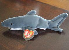 Valuable Beanie Babies, Ty Beanie Boos, Shark, Birth, Dinosaur Stuffed Animal, Plush, Friends, Book, Animals