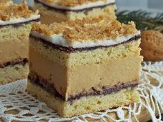 Baking Recipes, Cake Recipes, Dessert Recipes, Eclairs, Food Cakes, Cupcake Cakes, Polish Recipes, Polish Food, Yummy Cakes