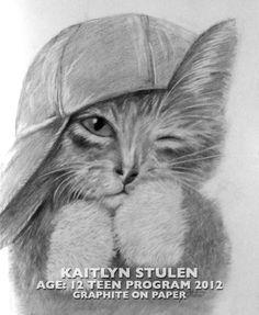 Teen Art Work from a student at The Houston School of Art & Design. Visit us: www.artschoolhouston.com