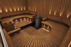 35 The Best Home Sauna Design Ideas You Definitely Like - No matter what you're shopping for, it helps to know all of your options. A home sauna is certainly no different. There are at least different options. Spa Interior, Salon Interior Design, Interior Garden, Saunas, Spa Design, House Design, Design Ideas, Garden Design, Sauna Steam Room