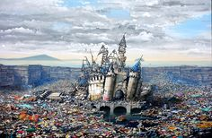 SCOPE MIAMI 2015 on the sands / Abandoned Dismaland - Jeff Gillette / Copro Gallery December 1 - 6, 2015
