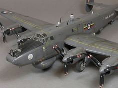 Revell's scale Avro Shackleton by Spencer Pollard Plastic Model Kits, Plastic Models, Scale Models, Avro Shackleton, Military Diorama, Military Art, Navy Aircraft, Ww2 Planes, Futuristic Art
