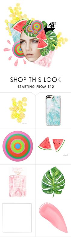 """""""Inspiration art piece"""" by potentialloveinterest ❤ liked on Polyvore featuring Casetify, Chanel, Burberry, Menu and Kevyn Aucoin"""
