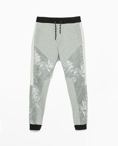 Image 7 of Nylon coated trousers from Zara