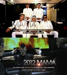 Big Bang to perform on stage as five for '2012 MAMA'