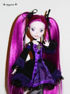OOAK Monster High custom Gothic lolita by AmygurumiDiAmandaP, €79.00