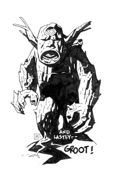 """browsethestacks: """" Marvel Monsters by Mike Mignola """""""
