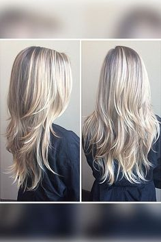 Looking for the best long layered haircuts for a fresher look? In our gallery you will find the best images of Best Long Layered Haircuts that you may want Blonde Layers, Haircut And Color, Haircut Layers, Hair Dos, Straight Hairstyles, Hair Inspiration, Short Hair Styles, Hair Makeup, Beauty Makeup