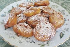 Bishi (Armenian Zeppole) --it is a deep-fried dough — lighter than doughnuts, more like a crueller sprinkled with sugar.