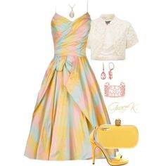 """Summer Enchanted Evening"" by gracekathryn on Polyvore"