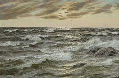 Paintings of Sea by Patrick von Kalckreuth (German, 1892–1970)