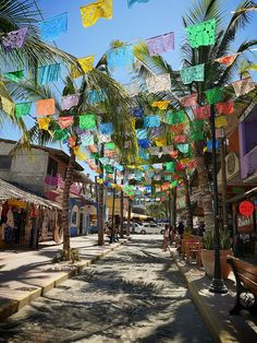 Colorful Sayulita, Mexico. Jungle Spirit Yoga Retreat Feb. 7-14, 2015 #yogaretreat #sayulitayogaretreat