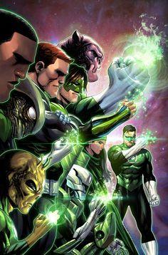 Hal Jordan and The Green Lantern Corps 23 - 45 Variant DC Comics Rebirth 2018 for sale online Green Lantern Corps, Green Lantern Hal Jordan, Green Lanterns, Blue Lantern, Marvel Comics, Dc Comics Art, Marvel Universe, Comic Books Art, Comic Art