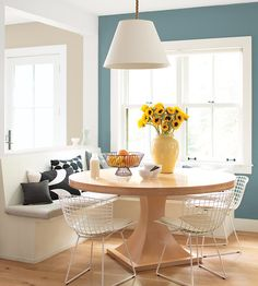 Color of the Year 2021 Aegean Teal Trending Paint Colors, Paint Colors For Home, House Colors, Benjamin Moore Colors, Benjamin Moore Paint, Sico, Build A Murphy Bed, Interior Color Schemes, Living Room