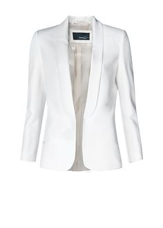 I've been searching for the perfect white or cream blazer...
