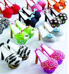 Pretty Shoes cupcake