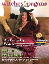 "If we are honest with ourselves, we admit that saying ""I am a witch"" is a claim to power. Not just any power, either: we are claiming occult, magickal knowledge; power sanctioned by neither Church nor State. In point of fact, claiming the title of ""witch"" is making a rude gesture in the face of the Establishment. It says, symbolically, ""you don't control me, I refuse to be domesticated."" Every self-named witch today is a zebra in a herd of horses....or a Unicorn...:)"