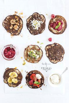 holy moly banana pancakes from paleo  © twolovestudio.com | rachel jane