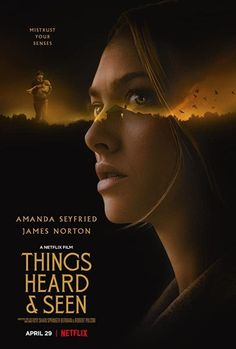 Things Heard & Seen Movie Download | Tags and Chats James Norton, Amanda Seyfried, Internet Movies, Movies To Watch Online, Watch Movies, Netflix Horror, Netflix Cast, Netflix Streaming, Horror Film