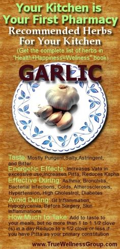 As little as 2 or more helpings of garlic a week could offer protection against cancer of the colon