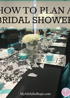 HOW TO PLAN A BRIDAL