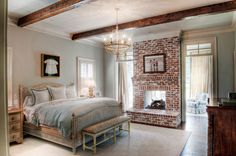 Give your tired old fireplace a fresh new look for summer