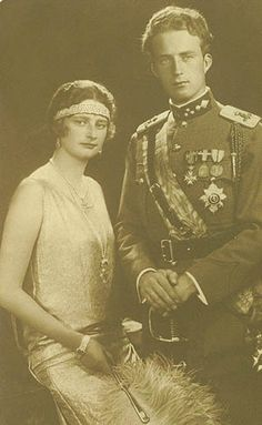 King Leopold III & Queen Astrid, the flapper princess :)