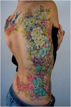 Flower Tattoo... Pretty but not for me