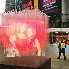 My Love Is Your Love #RIP #BobbiKristina #timessquare #nyc