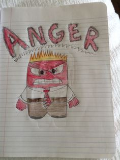 Anger from Inside Out, in theaters June 19th