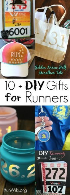 With Christmas and Chanukah right around the corner, I am getting a head start on Easy DIY crafts for all of the runners in my life.  I have so many friends training for their first race, from Half Marathon, 5K, 10K or marathon, these are presents I would be proud to give. Some are so easy kids could make them for their parents. Running Motivation   quotes   tips   12 week training plan    fitness   beginners