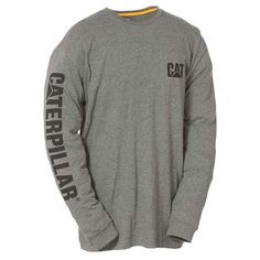 Men's Caterpillar Banner Logo Tee, Size: